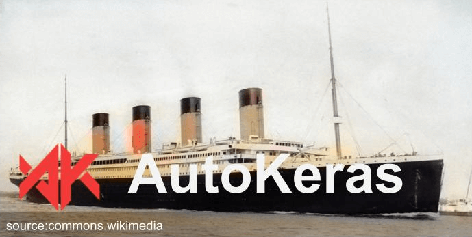 AutoKeras to classify tabular data - titanic dataset