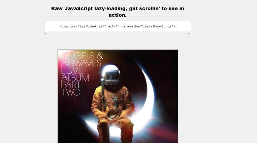 Echo.js javascript library