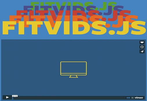 fitvidsjs javascript library