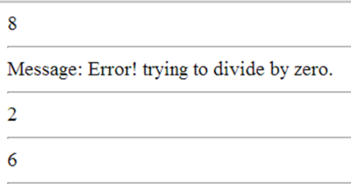 דוגמה לשימוש ב-class exception של PHP
