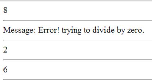 סדר הביצוע exception של PHP