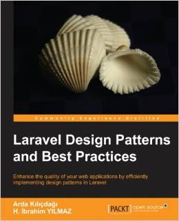 עטיפת הספר Laravel design patterns and best practices