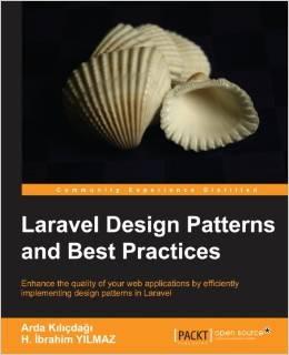 עטיפת הספר Laravel design patterns and best practices